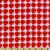 Modern Red Squares </br>Puppy Belly Band
