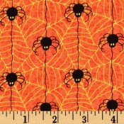 Halloween Spiders and Webs </br>Puppy Belly Band