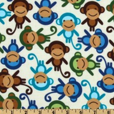 Monkeys! Puppy Belly Band