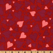 Red Heart Jumble Red </br>Puppy Belly Band