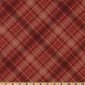 Plaid Cranberry Red </br>Puppy Belly Band CLEARANCE