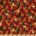 Autumn Falling Leaves Puppy Belly Band CLEARANCE