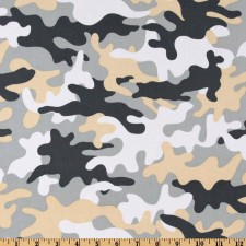 Grey Camouflage Puppy Belly Band CLEARANCE