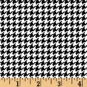 Houndstooth Black and White </br>Puppy Belly Band
