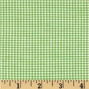 Lime Green Gingham Puppy Belly Band CLEARANCE