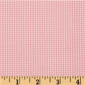 Pink Gingham Puppy Belly Band CLEARANCE
