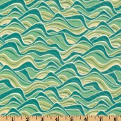 Surfing Monkey Aqua/Teal </br>Puppy Belly Band CLEARANCE