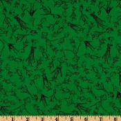 Holiday Whosville Green </br>Puppy Belly Band CLEARANCE