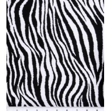 Zebra Print Puppy Belly Band CLEARANCE