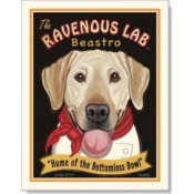 Dog Labrador Retriever - Ravenous Lab Beastro