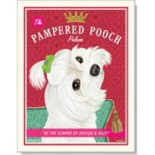 Dog Maltese - Pampered Pooch 8x10 Print