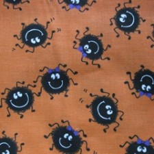 Halloween Dancing Spiders Puppy Belly Band CLEARANCE