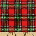 Plaid Scottish Red Puppy Belly Band CLEARANCE