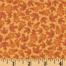 Orange Leaves Puppy Belly Band CLEARANCE