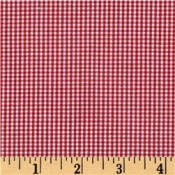 Red Gingham </br>Puppy Belly Band CLEARANCE