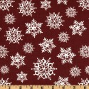Snowflakes Red Puppy Belly Band CLEARANCE