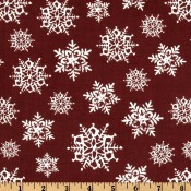 Snowflakes Red </br>Puppy Belly Band CLEARANCE