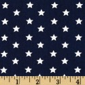 Stars on Navy Puppy Belly Band CLEARANCE