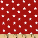 Stars on Red Puppy Belly Band CLEARANCE