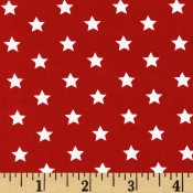 Stars on Red </br>Puppy Belly Band CLEARANCE