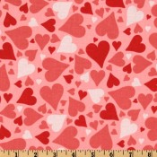 Red Heart Jumble Pink </br>Puppy Belly Band CLEARANCE