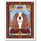 Dog King Charles Cavalier 8x10 Print