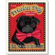 Dog Pug - Priceless 8x10 Print