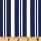 Navy and White Stripe </br>Puppy Belly Band