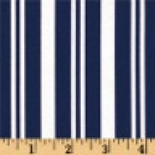 Navy and White Stripe Puppy Belly Band CLEARANCE