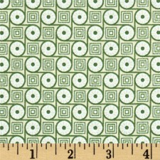 Circle and Square Green Belly Band CLEARANCE