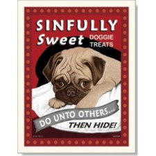 Dog Pug - Sinfully Sweet