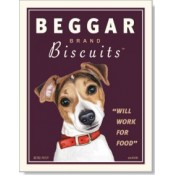 Dog Russell Terrier - Beggar Biscuits