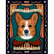 Corgi - Patron Saint of Royalty